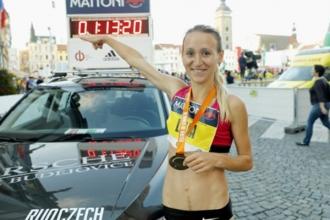 Лилия Фисикович побила рекорд Молдовы в марафоне, 27 лет спустя