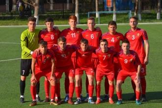 Сборная U-19 разгромно проиграла Англии