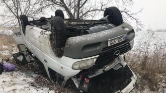 Микроавтобус попал в страшное ДТП в Криулянах: 17 человек госпитализированы