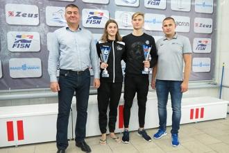 Татьяна Кишка и Никита Бортников доминировали на Кубке Молдовы по плаванию