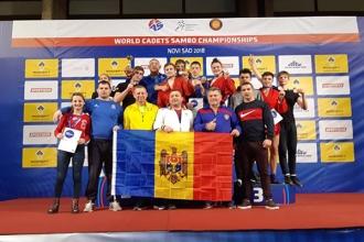 Молдова заняла 4-е место на Чемпионате мира по самбо среди кадетов