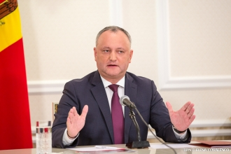 Игорю Додону доверяет более половины населения Молдовы