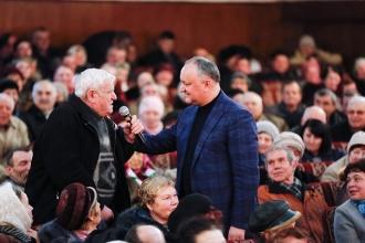 Президент посетил город Сороки
