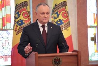 Додон: Десятки молдавских производителей уже поставили свои товары в Россию транзитом через Украину