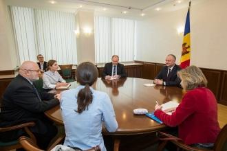 Встреча с членами миссии наблюдателей ОБСЕ