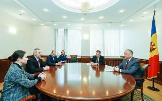Встреча с европейскими наблюдателями