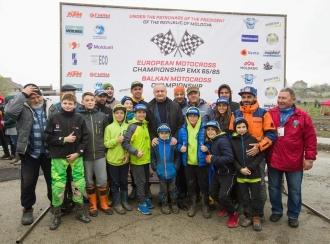 В Кишиневе прошел Чемпионат Европы по мотокроссу среди юниоров