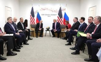 Саммит G20 в Осаке: встреча Путин-Трамп