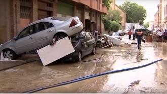 Наводнения в Наварре: есть пострадавшие