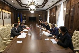Зинаида Гречаный встретилась с главой Миссии МВФ