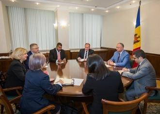 Президент Молдовы встретился с заместителем министра иностранных дел Республики Куба