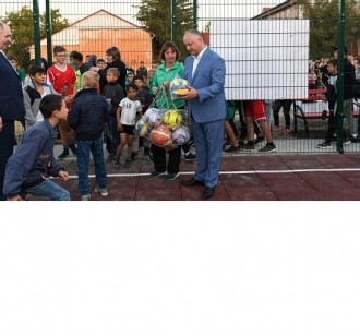 Современный спорткомплекс открылся в одном из крупнейших сел Молдовы