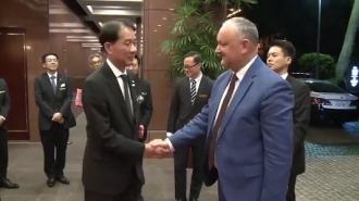 Игорь Додон прибыл с визитом в Токио