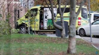 В Осло вооруженный мужчина угнал карету скорой помощи