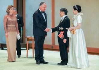 Президент Республики Молдова принял участие в Церемонии интронизации Императора Японии
