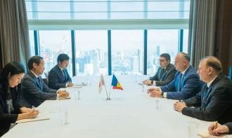 Игорь Додон встретился с вице-президентом Японского агентства по международному сотрудничеству  Дзюнити Ямадой