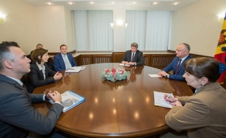 Президент провел встречу с представителями компании Gebauer & Griller