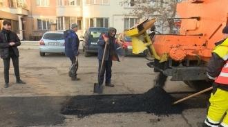 Ремонт тротуаров в кишиневских дворах