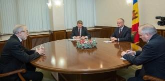 Президент Республики Молдова провел встречу с послом Грузии