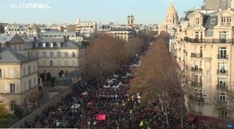 Общенациональная манифестация во Франции