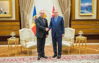 Состоялась встреча Президента Республики Молдова Игоря Додона и Президента Турции Реджепа Тайипа Эрдогана
