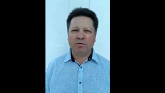 Штефан Гацкан опубликовал новые видеокадры: чувствует себя хорошо и отзывает свое заявление в Генеральную прокуратуру