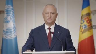 Игорь Додон: Существуют необходимые предпосылки для возобновления диалога с Российской Федерацией по складам в Кобасне