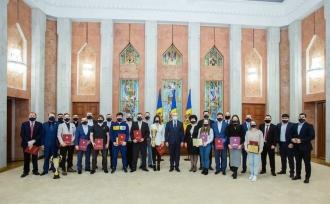 Президент отметил наградами достижения молдавских спортсменов