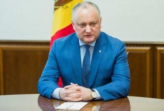 Игорь Додон: Назначение сомнительных лиц в Высший совет безопасности – порочная практика