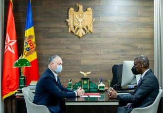 Игорь Додон – послу США в Молдове: Все предпринимаемые действия должны строго соответствовать Конституции