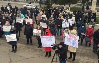 В Глодянах, Сороках и Кагуле прошли акции протеста