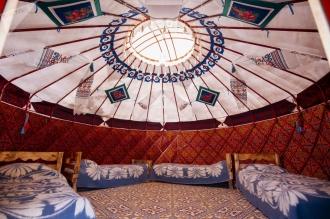 Киргизские юрты в Молдове
