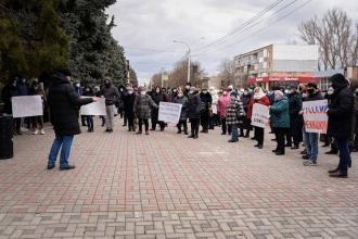 Акции протеста против решения Конституционного суда прошли в Унгенах, Тараклии, Фалештах и Рышканах