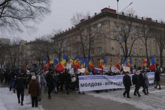Митинг в поддержу русского языка прошел в Бельцах