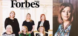 Мариана Дурлештяну - седьмое место в разделе «Forbes» - «50 самых влиятельных женщин Румынии»