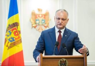 Додон обличил двойные стандарты западных партнёров Молдовы