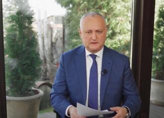 Додон: Нужно сделать всё, чтобы не допустить локдауна в Молдове