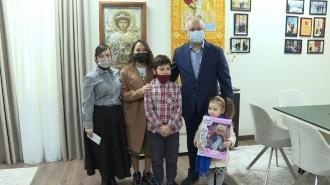 Игорь Додон начинает кампанию по оказанию помощи многодетной семье скончавшего священника