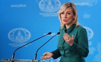 Захарова заявила, что РФ призывает США и ЕС воздержаться от вмешательства в дела Молдавии