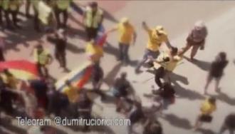 МВД осуждает агрессивное поведение представителей партии «AUR», которые напали на полицейского