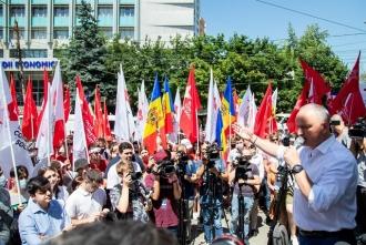 Игорь Додон: Так как сегодня тысячи глаждан протестуют у Высшей Судебной Палаты, так и после выборов мы будем готовы защитить каждый голос!