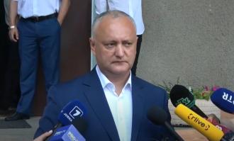 Игорь Додон: Сегодняшнее голосование важно тем, что решается кто будет управлять страной – будет ли это профессиональная команда или те, кто отдаст Молдову иностранцам