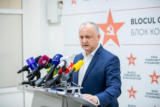 Додон о ПДС: Хорошо, что нет конституционного большинства, потому что могли бы и объединиться с Румынией