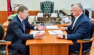 Despre ce au discutat Igor Dodon și Dmitri Kozak, la Moscova