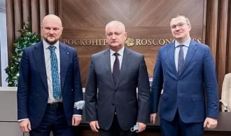 Игорь Додон договаривается о льготных условий для представителей молдавского бизнеса в Москве