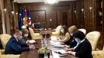 Чокой проинформировал спикера парламента о том, что изысканы средства для п ...