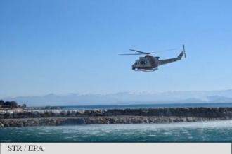 Trei morți în urma prăbușirii unui elicopter militar grec în Marea Egee