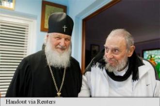 Fidel Castro l-a primit pe Kirill la reședința sa din Havana