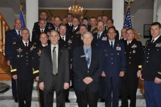 Generali şi amirali americani, în vizită în Republica Moldova