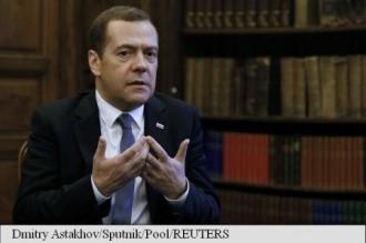 Dmitri Medvedev: Afluxul masiv de refugiați în Europa,